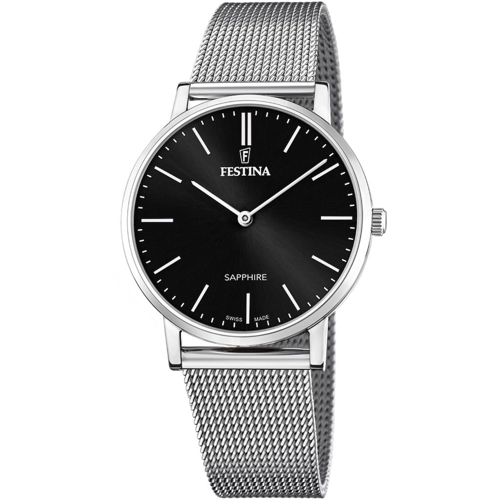 Festina Schweizer Uhr »Festina Swiss Made, F20014/3«