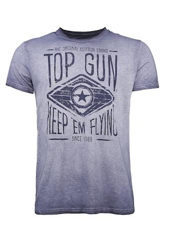 TOP GUN T-Shirt »Growl«, sportlicher Schnitt kaufen