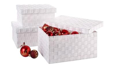 Franz Müller Flechtwaren Aufbewahrungsbox (Set, 3 Stück) kaufen
