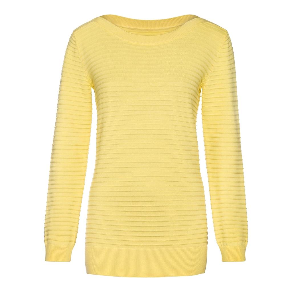 Inspirationen Strickpullover »Langarm-Pullover«