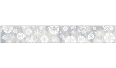 MYSPOTTI Fensterfolie »mySPOTTI look Snowy white«, 200 x 30 cm, statisch haftend kaufen