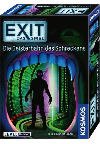 """Kosmos Spiel, """"EXIT  -  Die Geisterbahn des Schreckens"""" kaufen"""