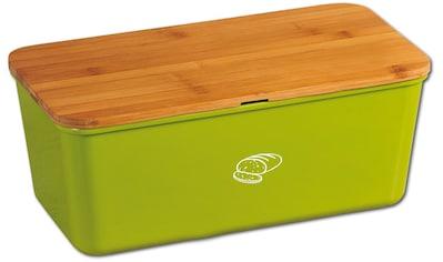KESPER for kitchen & home Brotkasten, (1 tlg.), 100% FSC®-zertifiziertem Bambus /Melamin kaufen