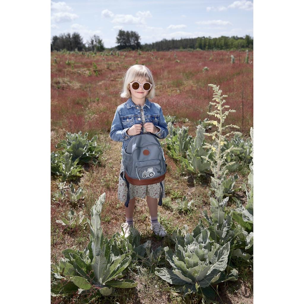 LÄSSIG Kinderrucksack »Adventure, Tractor, Mini Backpack«, Floureszierende Flächen, PETA-approved vegan
