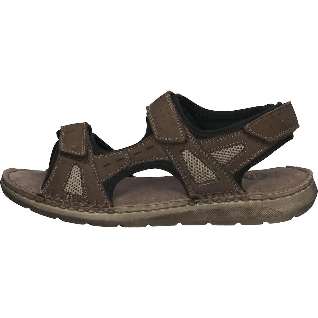 Bama Sandale »Leder/Textil«