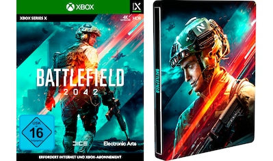 Electronic Arts Spiel »Battlefield 2042 + Steelbook«, Xbox Series X kaufen
