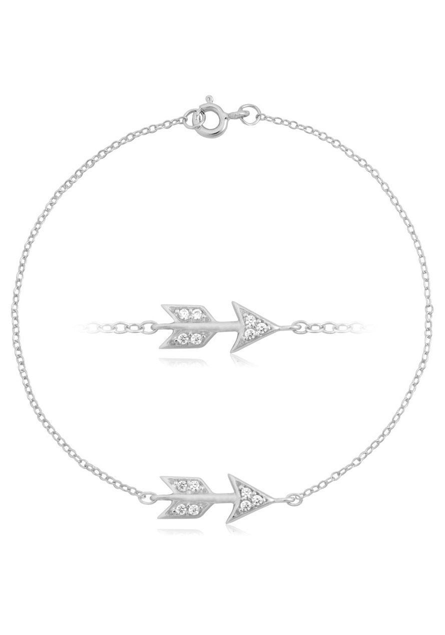 Firetti Silberarmband Pfeil rohdiniert glanz massiv | Schmuck > Armbänder > Silberarmbänder | Firetti