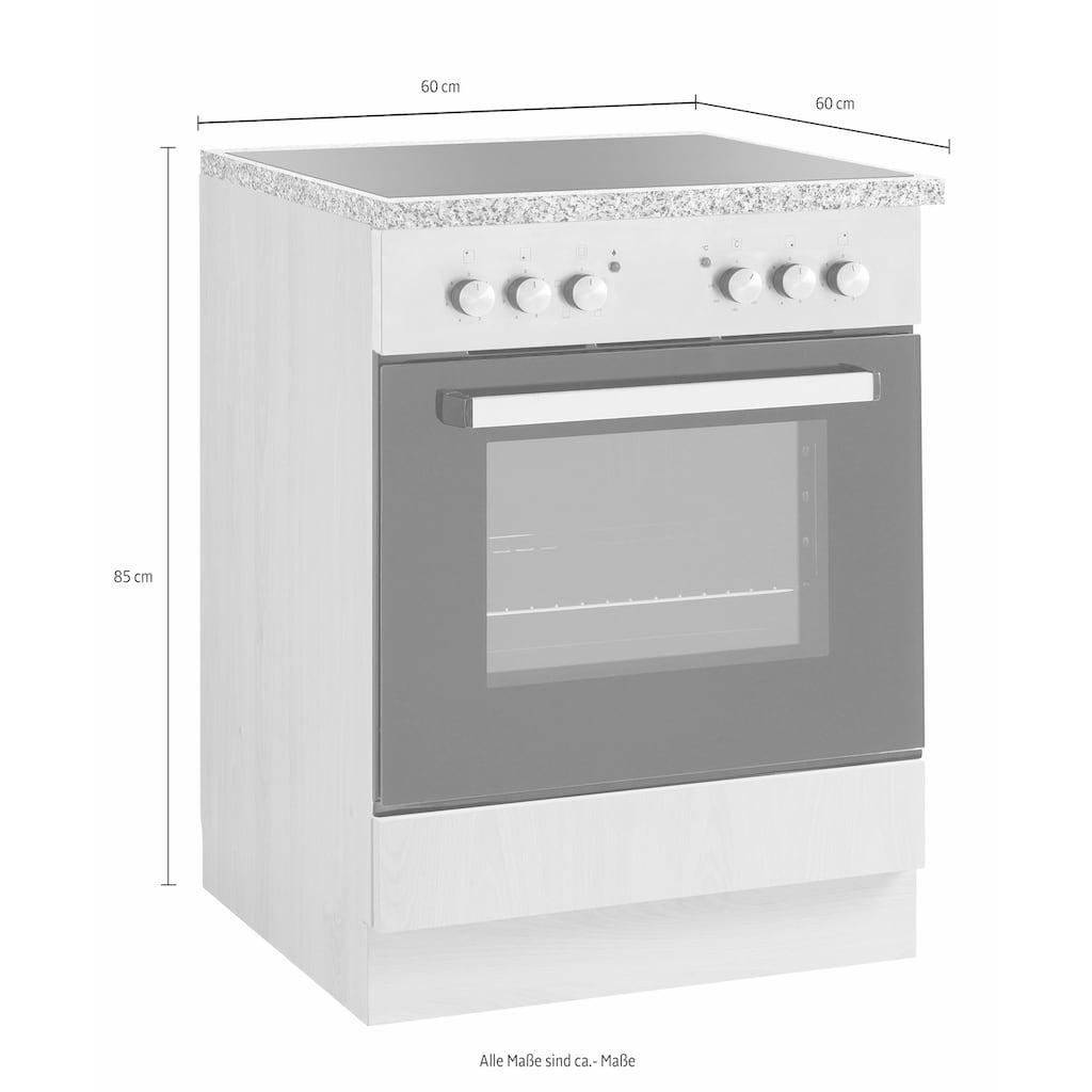 wiho Küchen Herdumbauschrank »Kiel«, 60 cm breit
