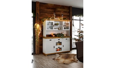 Home affaire Buffet »Ruegen«, aus Massivholz, im Landhausstil kaufen