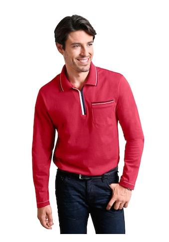 Classic Basics Poloshirt mit Seitenschlitze kaufen