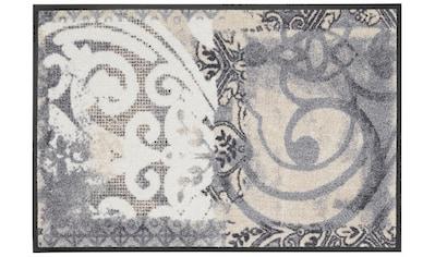 wash+dry by Kleen-Tex Fußmatte »Arabesque«, rechteckig, 9 mm Höhe, Schmutzfangmatte,... kaufen