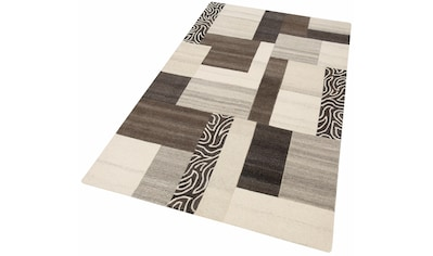 Theko Exklusiv Wollteppich »Lola«, rechteckig, 12 mm Höhe, reine Wolle, Wohnzimmer kaufen