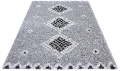 Hochflor - Teppich, »Cassia«, MINT RUGS, rechteckig, Höhe 33 mm, maschinell gewebt kaufen