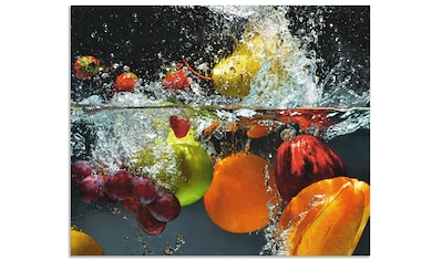 Artland Küchenrückwand »Spritzendes Obst auf dem Wasser« kaufen
