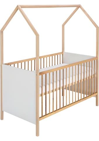Schardt Babybett »Hausbett Sienna Grey«, Made in Germany kaufen