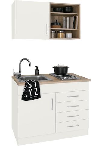 HELD MÖBEL Küchenzeile »Mali«, mit E - Geräten, Breite 100 cm kaufen