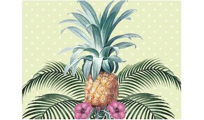 Contento Platzset »Colonial Pineapple«, (Set, 4 St.), für innen und außen geeignet,... kaufen