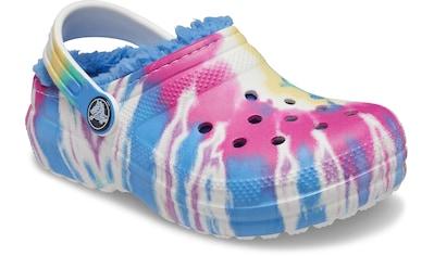 Crocs Clog »Classic Lined Tie Dye«, mit Warmfutter kaufen