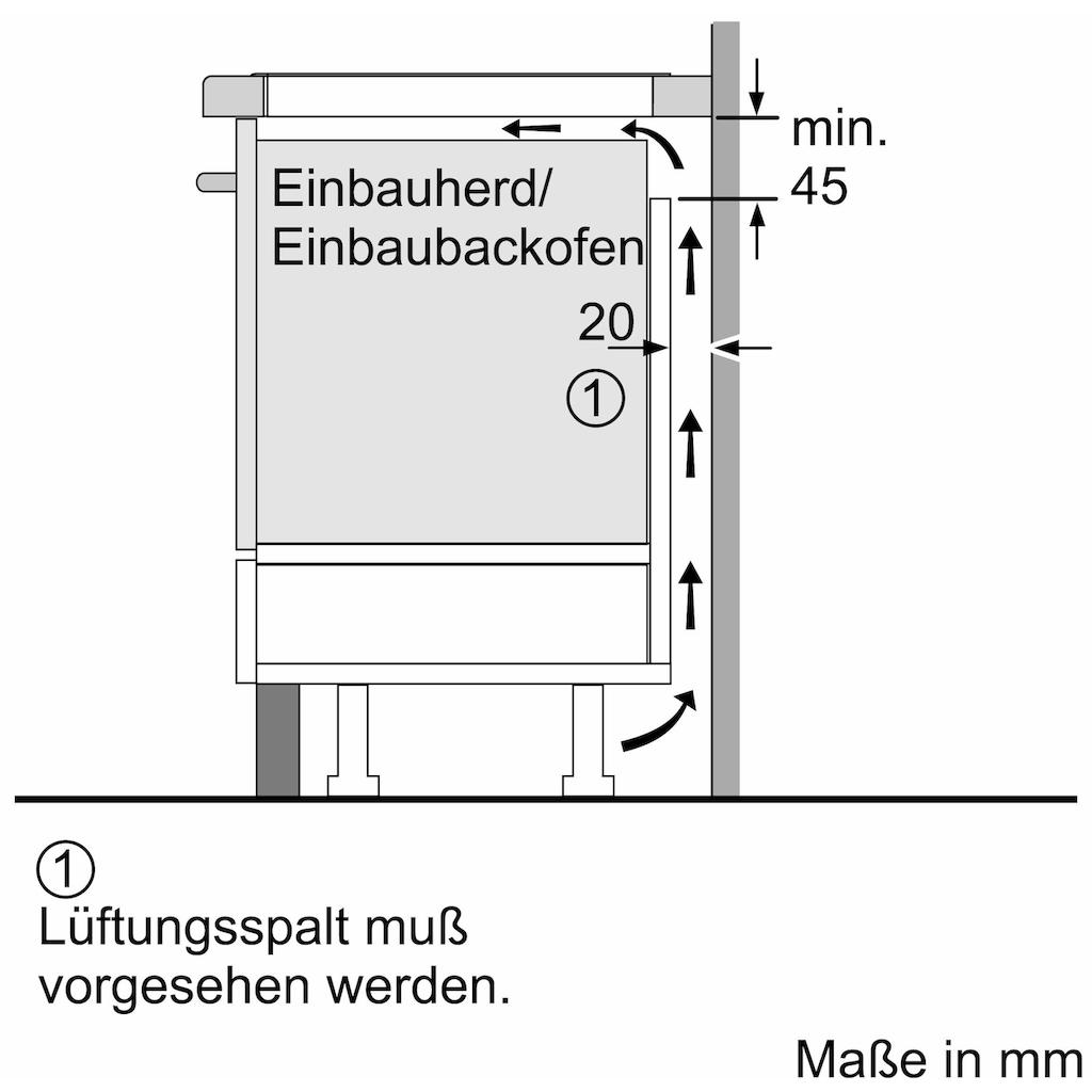 NEFF Flex-Induktions-Kochfeld von SCHOTT CERAN® »T58BT20N0«, T58BT20N0, mit TwistPad® Bedienung