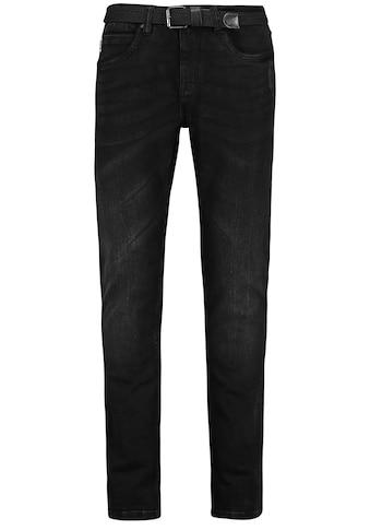 Eight2Nine Slim-fit-Jeans, mit Gürtel kaufen