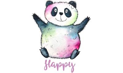 Wandtattoo »Happy Panda« kaufen