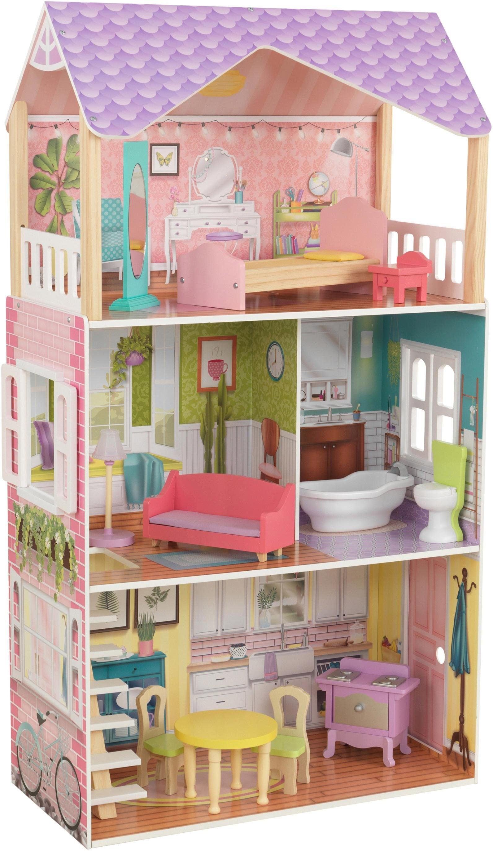 """KidKraft Puppenhaus """"Poppy Puppenhaus"""" Kindermode/Spielzeug/Puppen/Puppenhaus"""