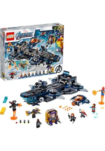 LEGO® Konstruktionsspielsteine »Avengers Helicarrier (76153), LEGO® Marvel Super Heroes™«, (1244 St.), Made in Europe kaufen