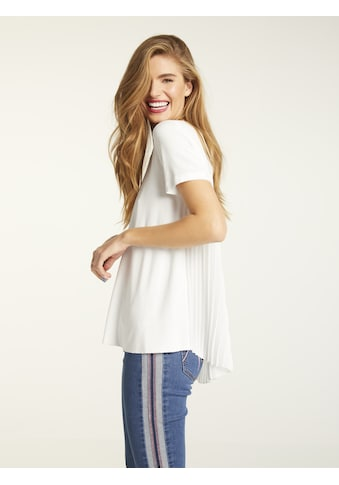 Shirt mit Pliseeeinsatz kaufen