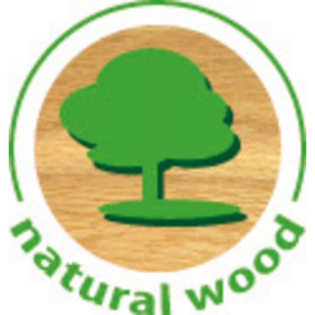 Huch! Spiel »Wooden Line Farm«, 9 Maxi-Teile, FSC®-Holz aus gewissenhaft bewirtschafteten Wäldern