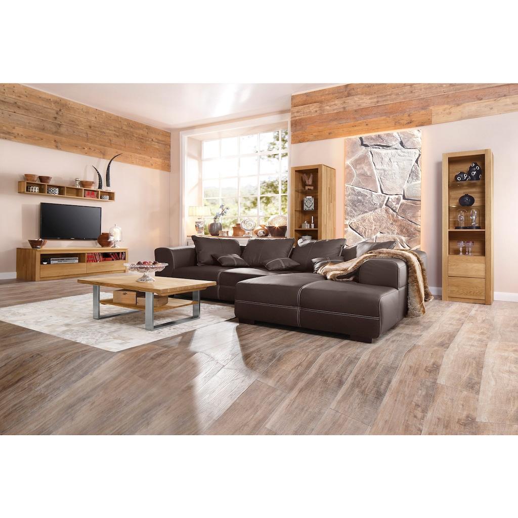 Premium collection by Home affaire Couchtisch »Montana«, aus massiver Wildeiche