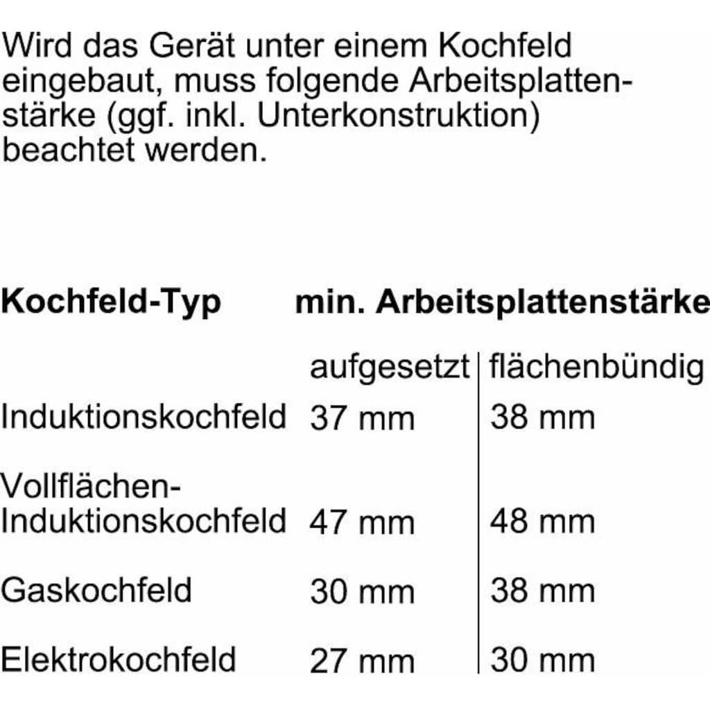 NEFF Pyrolyse Backofen »B6CCH7AN0«, N 50, B6CCH7AN0, mit Teleskopauszug nachrüstbar, Pyrolyse-Selbstreinigung, mit Hide®