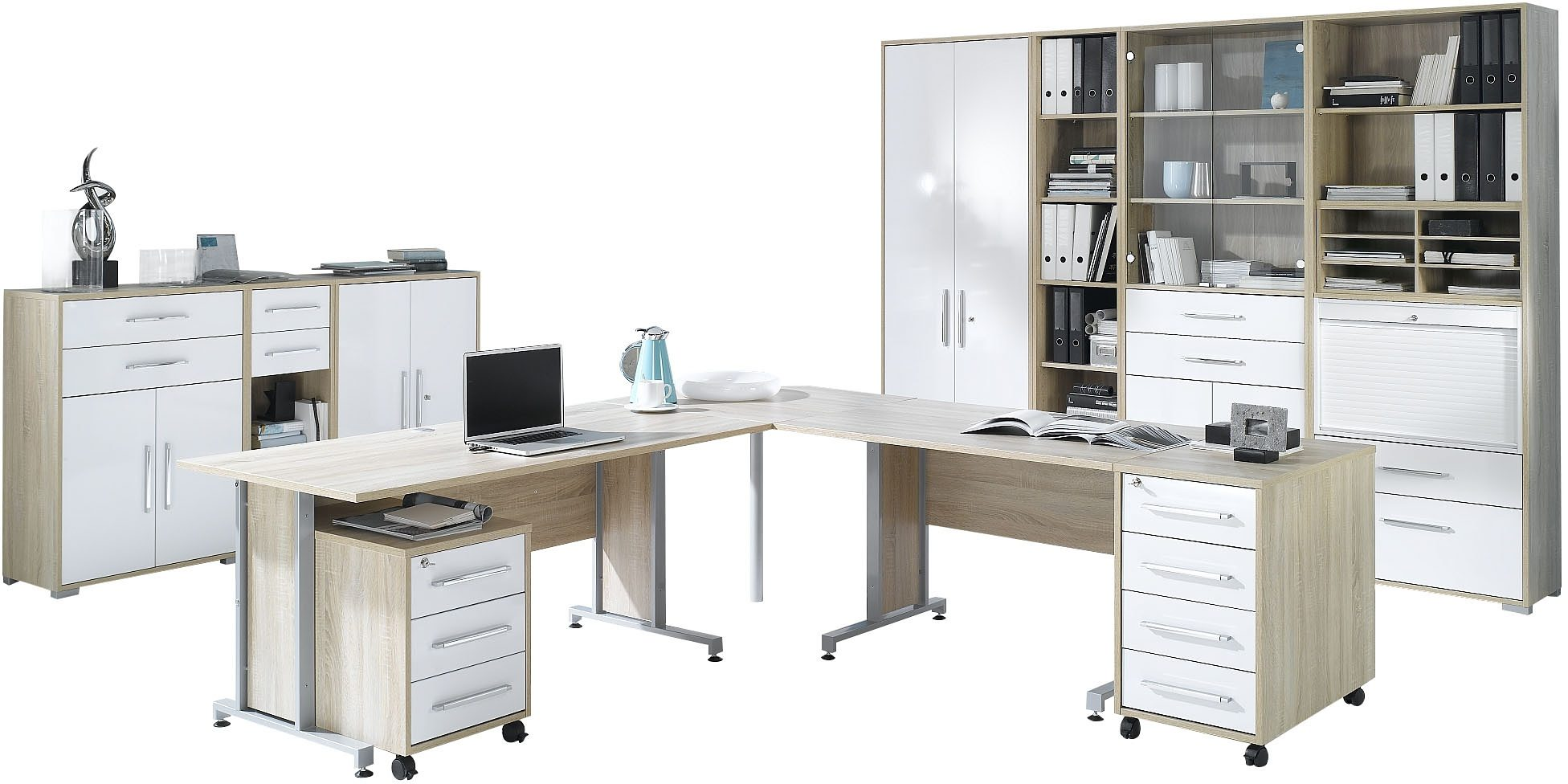 Maja Möbel Büro-Set 1205 (Set 6-tlg) | Büro > Büromöbel-Serien | Maja Möbel