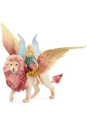 Schleich® Spielfigur »bayala, Elfe auf geflügeltem Löwe (70714)« kaufen