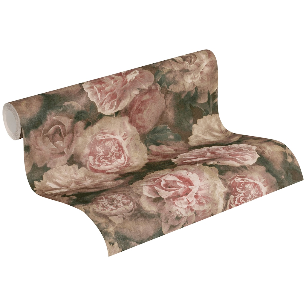 A.S. Création Vliestapete »Neue Bude 2.0 Romantic Flowery mit romantischen Rosen«, floral