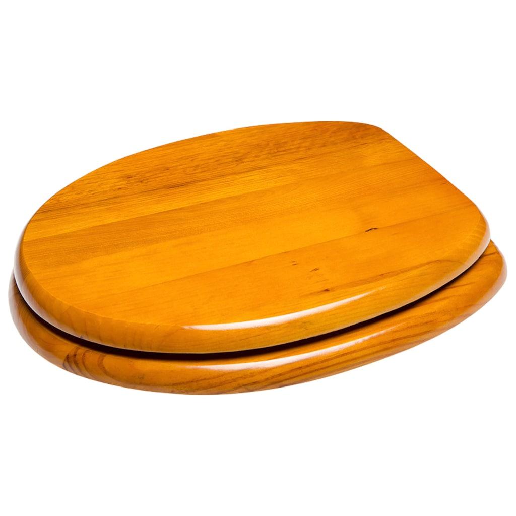 Sanilo WC-Sitz »Holz«, mit Absenkautomatik