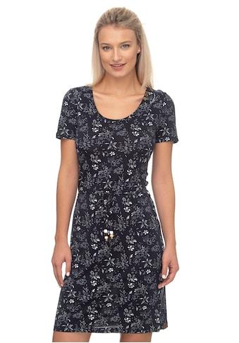 Ragwear Shirtkleid »PELIADA ORGANIC«, mit Flower-Allover-Druck kaufen