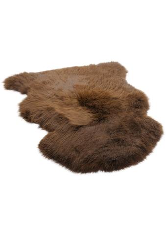 THEKO Fellteppich »Maeh«, fellförmig, 70 mm Höhe, echtes Lammfell, Wohnzimmer kaufen