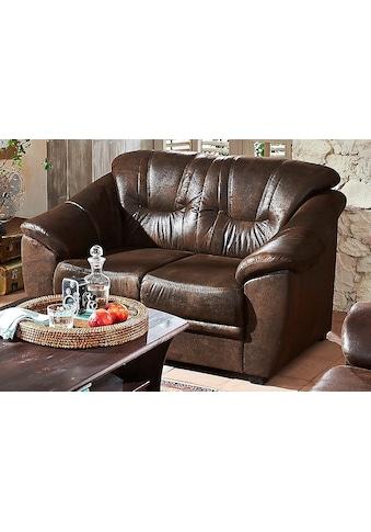Home affaire 2-Sitzer »Savona«, mit Federkern kaufen
