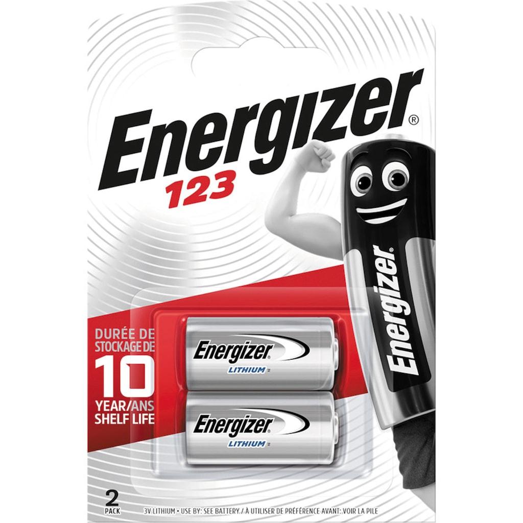 Energizer Batterie »Lithium Foto 123 2 Stück«, 3 V