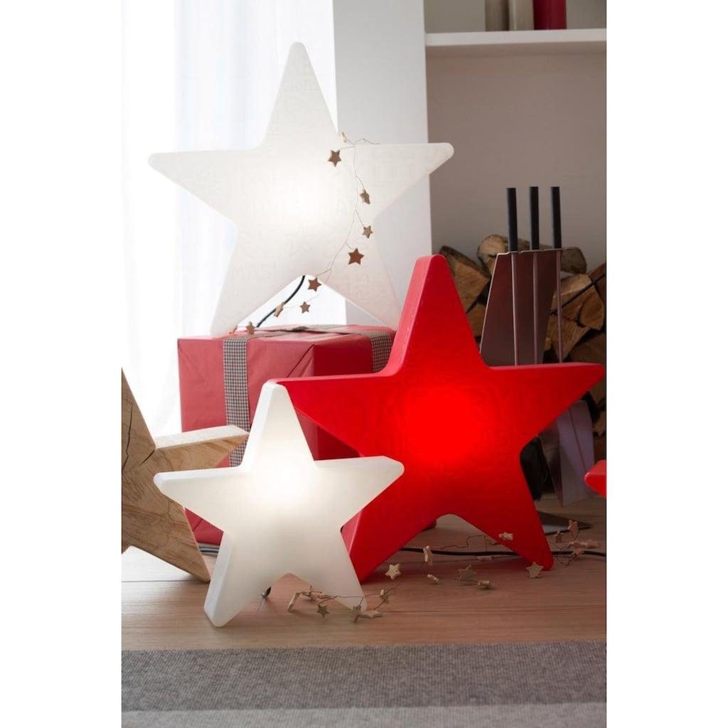 8 seasons design Dekolicht »Shining Star Mini«, E27, Kaltweiß, Ø 40 cm
