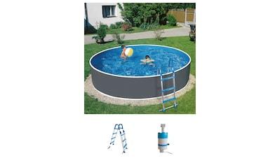 Set: Rundpool »Standard«, 3 - tlg., ØxH: 360x90 cm kaufen