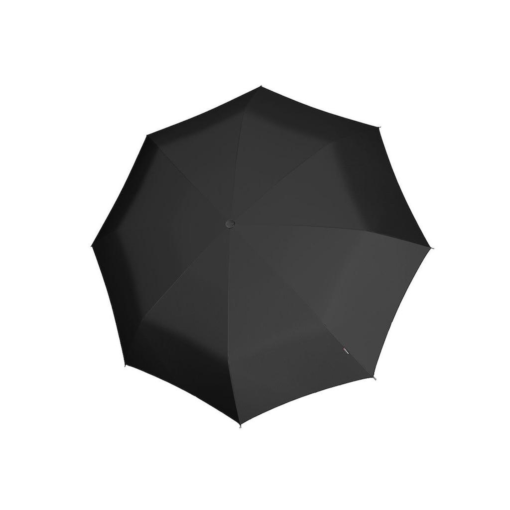 Knirps® Taschenregenschirm »X1, black«