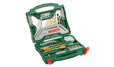 BOSCH Bohrer -  und Bit - Set »X - Line Titanium 70«, 70 - tlg. kaufen