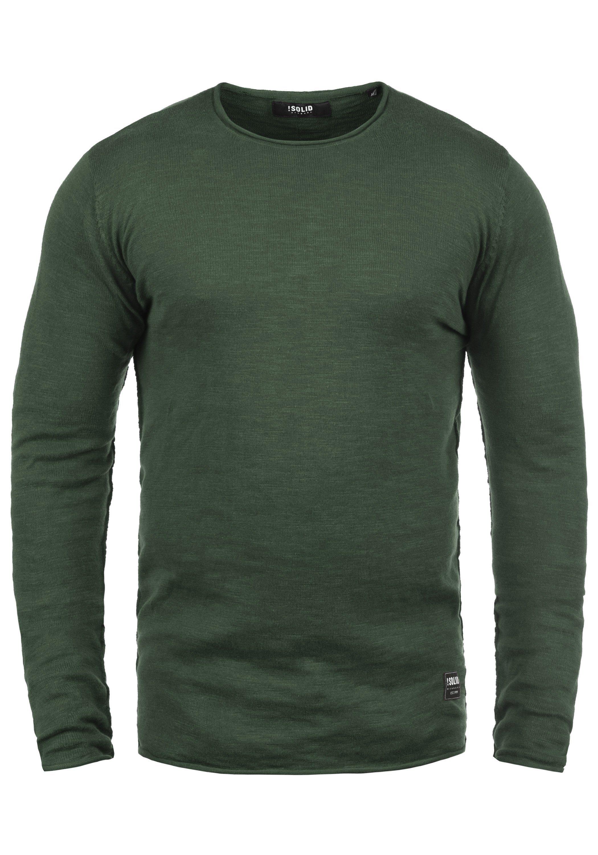 Solid Rundhalspullover Krimmich   Bekleidung > Pullover > Rundhalspullover   Grün   Solid