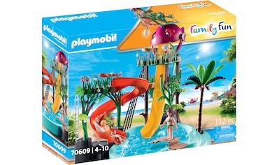 Playmobil® Konstruktions-Spielset »Aqua Park mit Rutschen (70609), Family Fun«, (132... kaufen