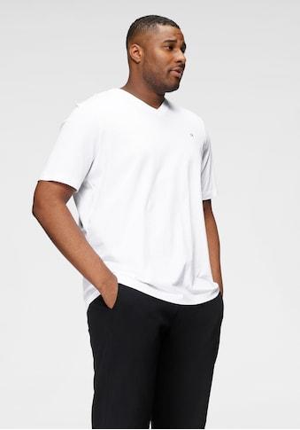 Calvin Klein Big&Tall T-Shirt »BT-LOGO EMBR V-NECK T-SHIRT« kaufen