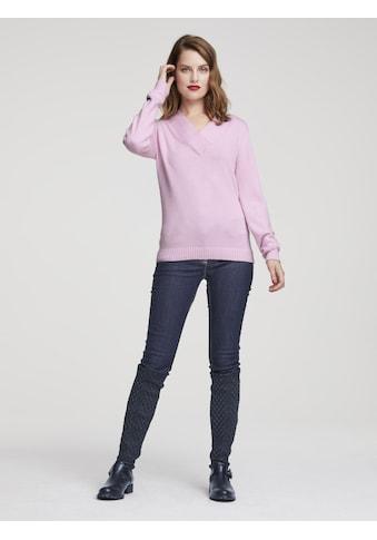 LINEA TESINI by Heine Strickpullover »V-Pullover« kaufen