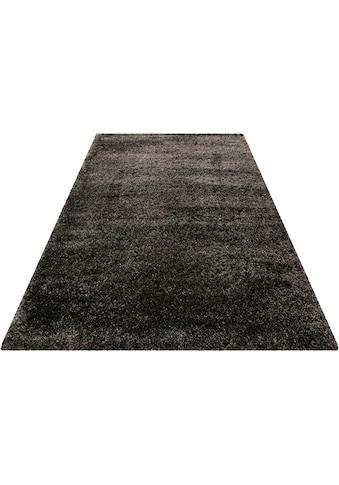 Wecon home Basics Hochflor-Teppich »Paula«, rund, 55 mm Höhe, Wohnzimmer kaufen