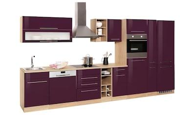 HELD MÖBEL Küchenzeile »Eton«, ohne E-Geräte, Breite 390 cm kaufen