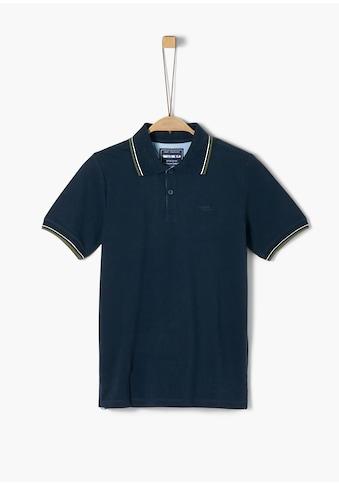 s.Oliver Piqué-Poloshirt_für Jungen kaufen